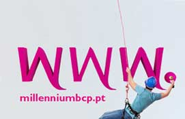 Novo Site do Banco Millennium BCP