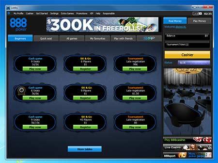 Dinheiro gratis para jogar poker
