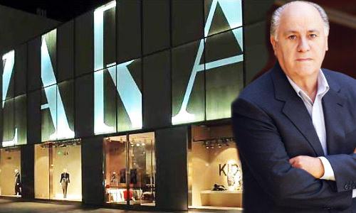Amancio Ortega, fundador Inditex