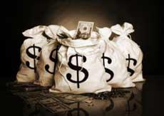 Bancos fazem dinheiro