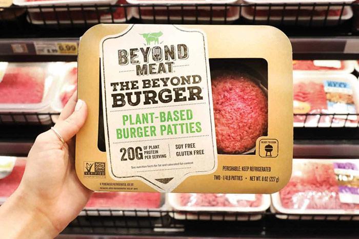 Hambúrgueres Beyond Meat