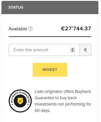 Garantia Buyback na Viventor