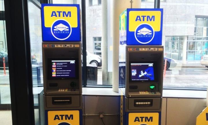 Caixas ATM Euronet Worldwide