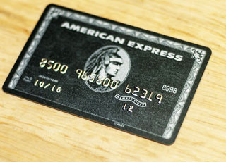 Cartão American Express Black