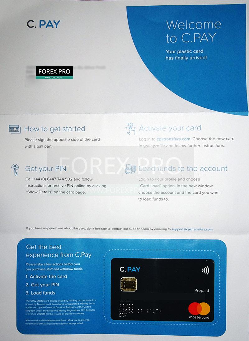 Cartão Bitcoin Contactless Cryptopay
