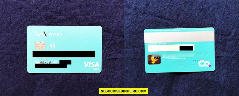 Cartão Bitcoin Wirex Grátis