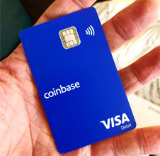 Cartão Coinbase Card