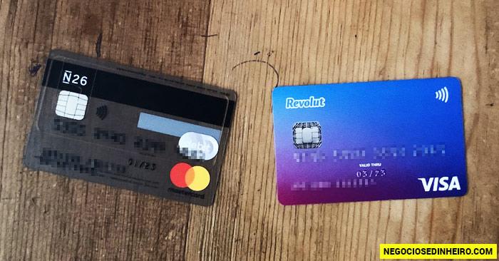Cartão de Débito N26 e Revolut