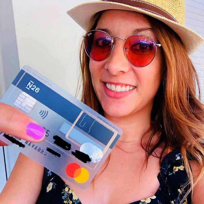 Cartão de débito N26
