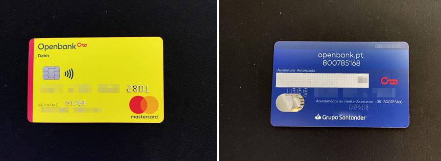 Cartão de Débito R42 Openbank