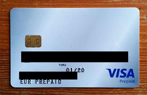 Cartão de Débito Bitcoin Visa SatoshiTango