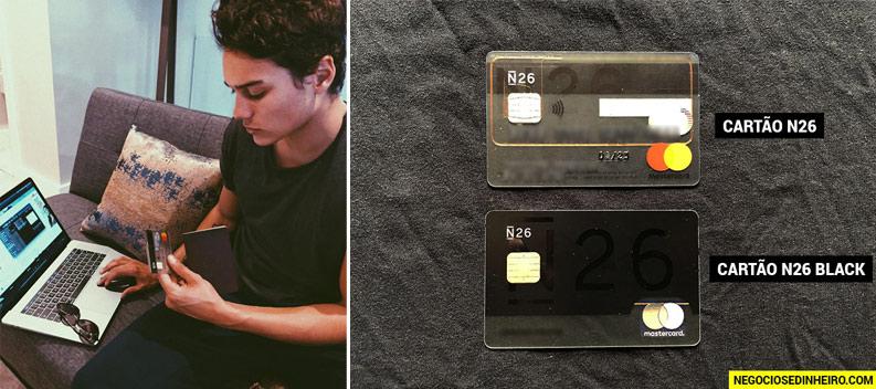 Cartão de Débito N26 e N26 Black