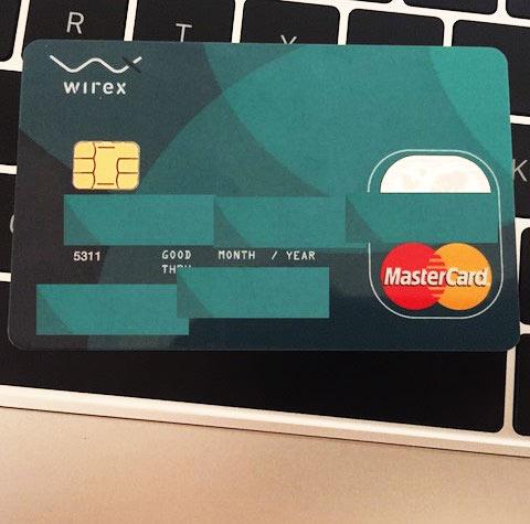 Cartão Bitcoin Wirex Mastercard no Brasil