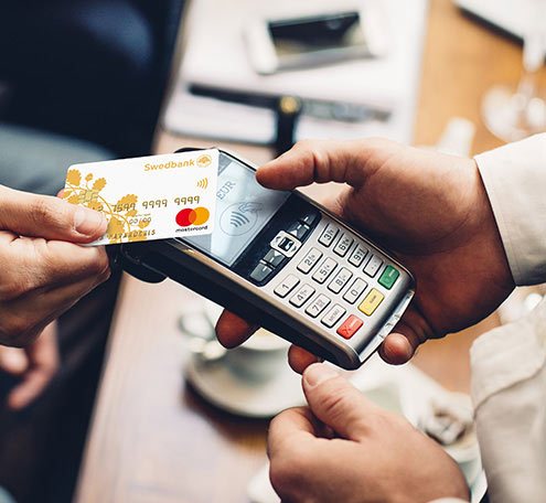 Exemplo de cartão contactless mastercard