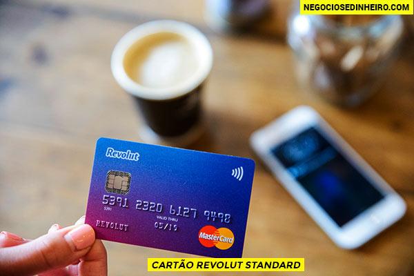 Cartão Revolut Standard - o cartão grátis da Revolut