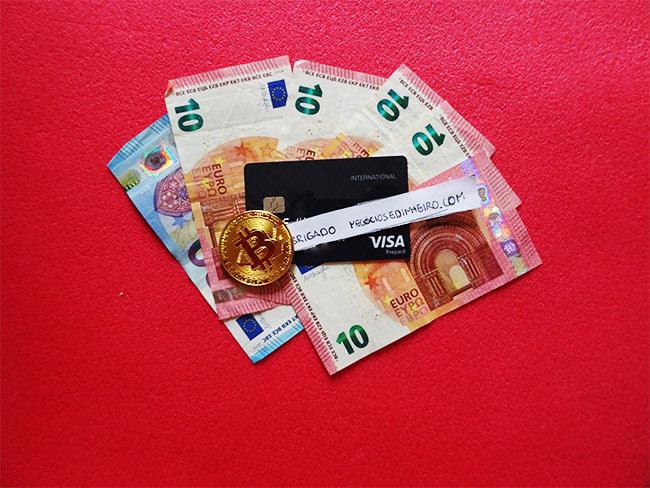 Cartão Bitcoin Wirex Visa em Portugal