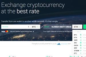 Changelly Exchange de Criptomoedas