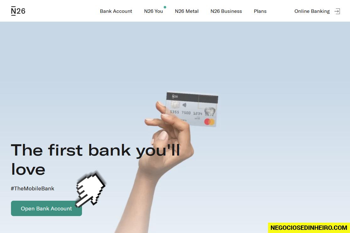 Os passos para abrir conta no Banco N26