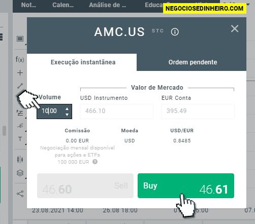 Como Comprar Ações AMC