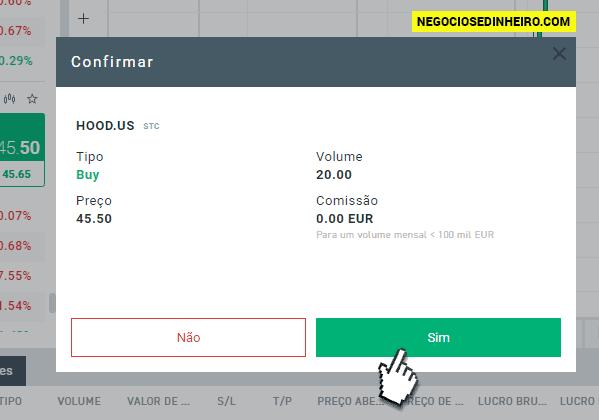 Como comprar ações da Robinhood