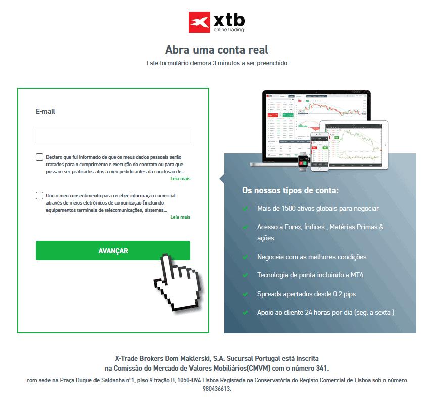 Como comprar ações na XTB Portugal