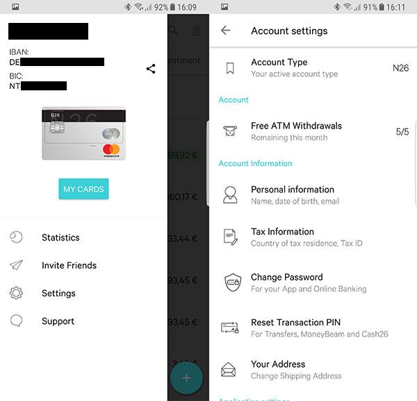 Como funciona a app do Banco N26