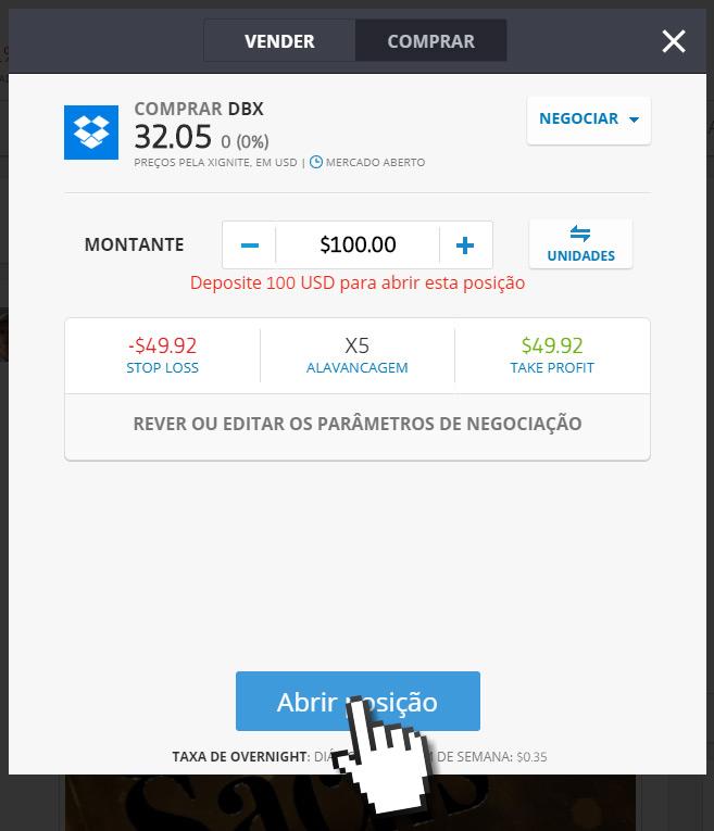 Como investir na Dropbox