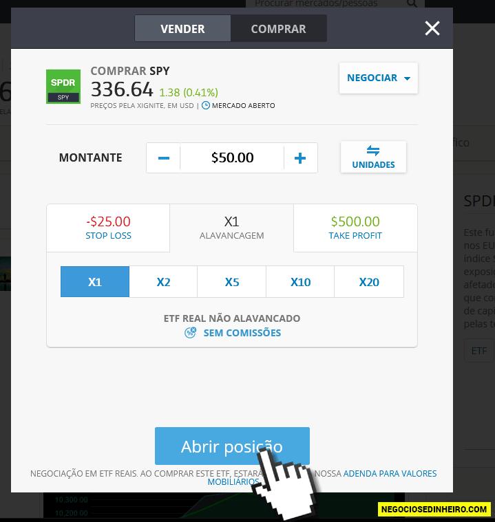 Como investir no ETF S&P500 com o símbolo SPY