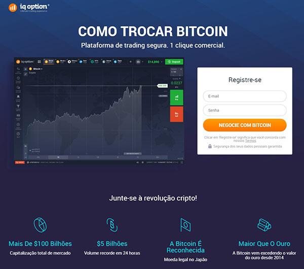 Como negociar Bitcoin