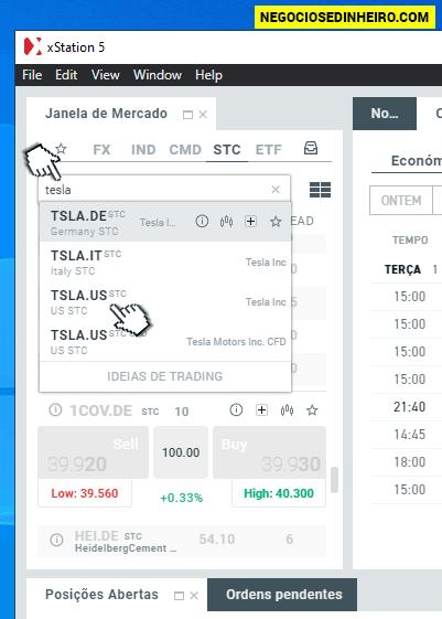 Como comprar ações TESLA