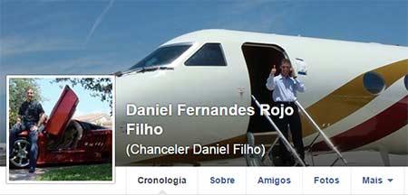 Perfil de Daniel Filho no Facebook