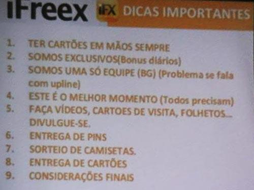 Dicas para recrutar novas vítimas para a iFreex com sucesso
