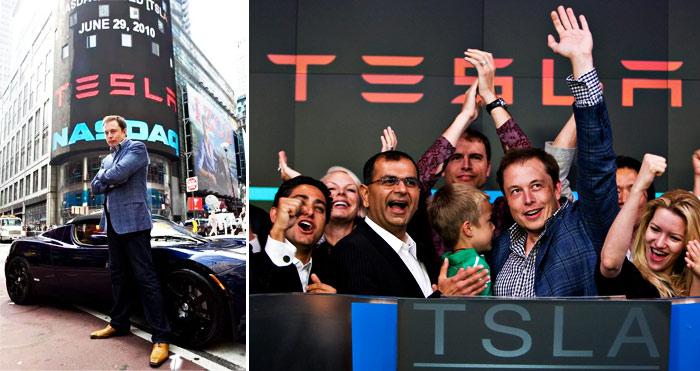 Entrada em Bolsa da Tesla - Tesla IPO NASDAQ