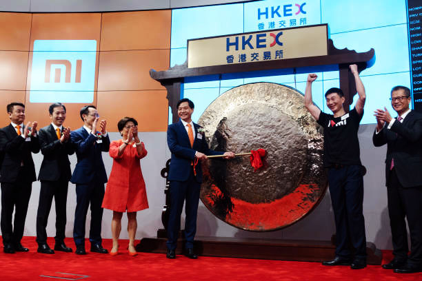 Estreia da Xiaomi na Bolsa de Valores de Hong Kong