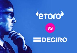 Etoro vs DEGIRO - Qual é a melhor corretora