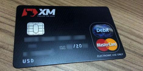 Cartão de Débito MasterCard XM.COM
