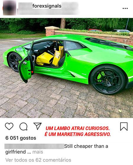 Instagram conta sinais forex
