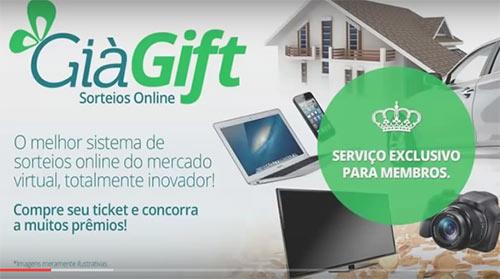 """GiaGift.com, a estratégia para """"queimar"""" saldo na LibertaGia"""