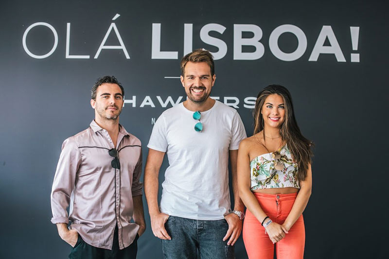 David Codina (project manager), David Moreno (co-fundador) e Isabel Delgado Laguna (responsável de comunicação), três membros de uma jovem equipa. (foto: GQ Portugal)