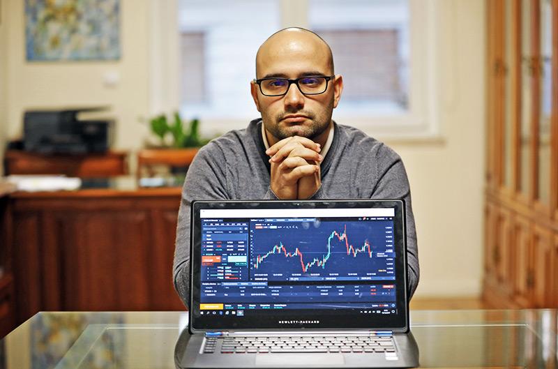 Investidor Bitcoin de Portugal, João Rosas