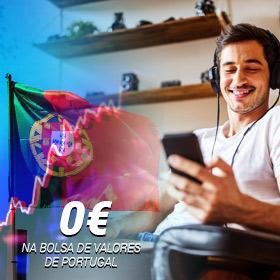 Como investir na Bolsa de Valores de Portugal com comissões grátis