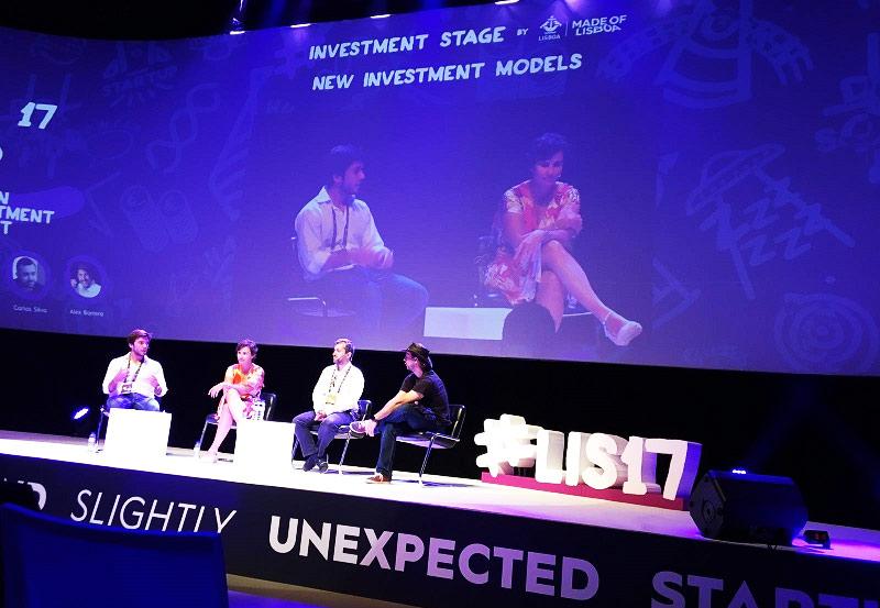 Raize no Lisbon Investment Summit 2017 a apresentar as suas novidades.