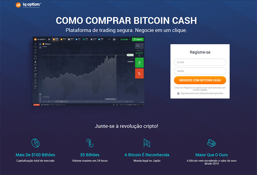 Como negociar Bitcoin Cash