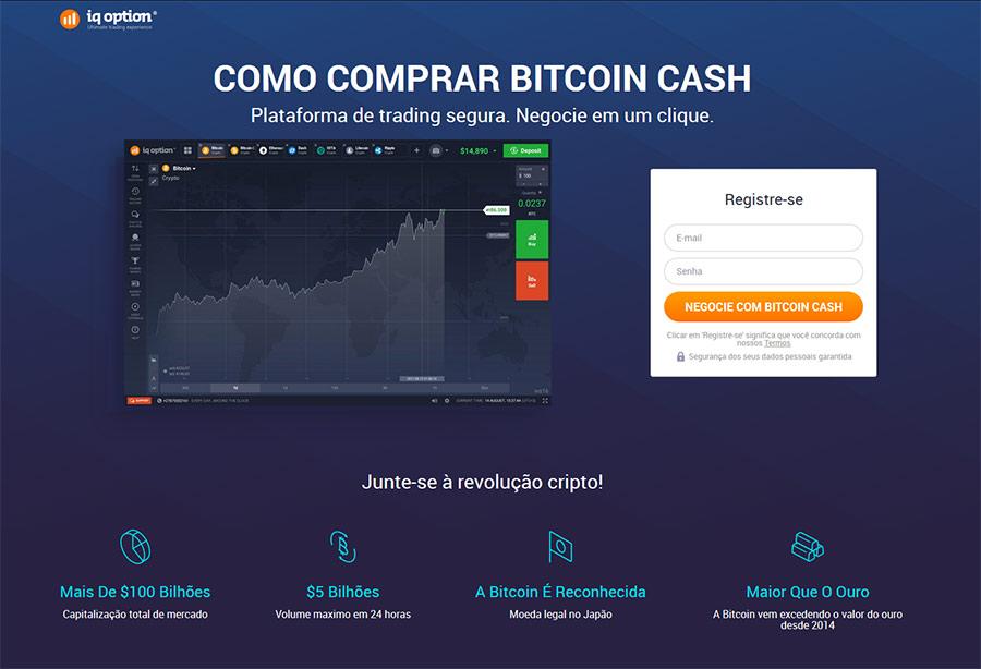 Como negociar Bitcoin Cash
