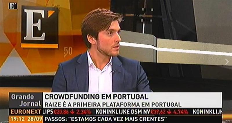 Plataforma de crowdfunding Raize em destaque no Diário Económico