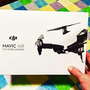 Sorteio Drone DJI Mavic Air